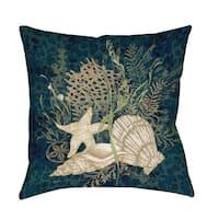 Sea Shells Vignette Floor Pillow
