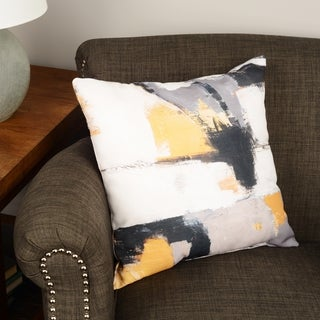 Thumbprintz Yellow Catalina I Floor Pillow