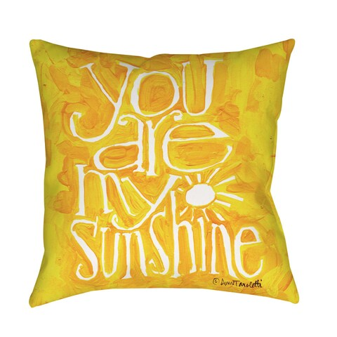 You are my Sunshine Floor Pillow