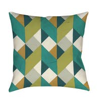 Chevron Illusion II Floor Pillow
