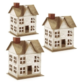 Wald Imports Paperboard House (Set of 3)