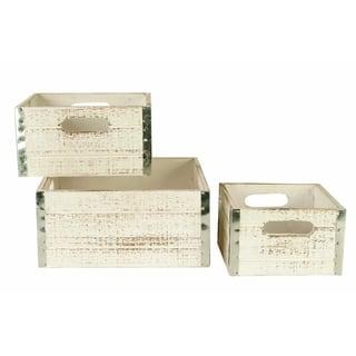 Wald Imports Whitewash Wood Storage Crates (Set of 3)|https://ak1.ostkcdn.com/images/products/9320254/P16480291.jpg?impolicy=medium