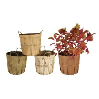 Wald Imports 7-inch Pot Cover Assortment (Set of 4)