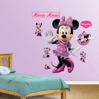 Fathead Minnie Mouse Wall Decals