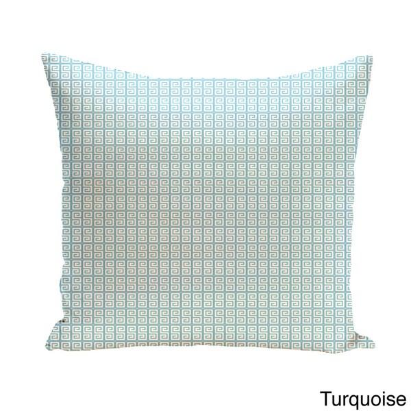 E by design Triple Surf Geometric Print Pillow