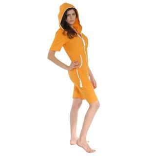 ZOOOP iT UP Unisex Orange Terry Onesie