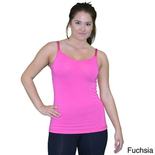 Madison Sport Women's Tiffany Black, Blue, Green, Pink, Yellow Cotton Tank Top (More options available)