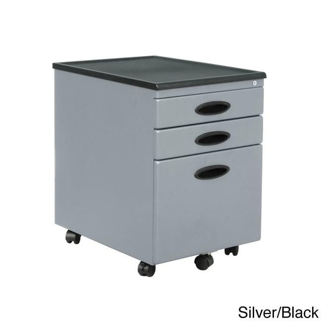 Studio Calico Calico Designs Metal Mobile File Cabinet wi...