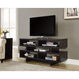 48-inch Cappuccino Hollow-core TV Console