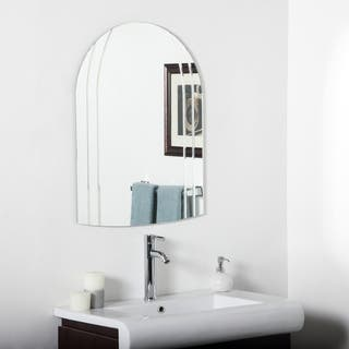 Serina Modern V-groove Vertical Bathroom Mirror|https://ak1.ostkcdn.com/images/products/9320925/P16480893.jpg?impolicy=medium