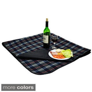 Multi Fleece Picnic Blanket with Attached Case (3 options available)