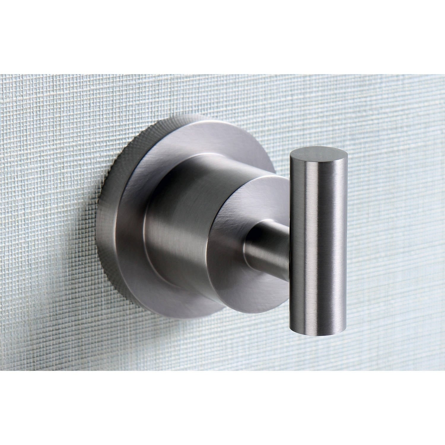 Kingston Modern Brass Satin Nickel Robe Hook (Set of 2) (...