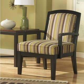 Signature Design by Ashley Riley Lemoncello Showood Accent Chair