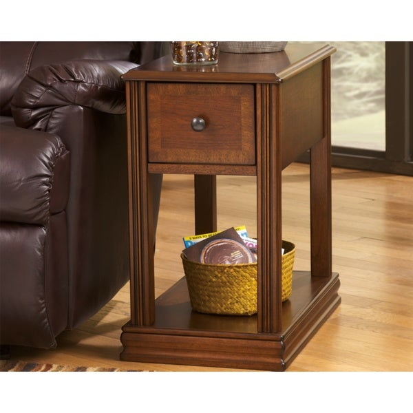 Signature Designs By Ashley Rollins Square End Table: Shop Signature Design By Ashley Brockland Square End Table