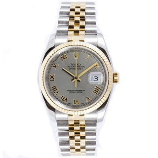 Pre-Owned Rolex Men's Datejust Steel and Gold Jubilee Automatic Watch