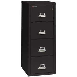 FireKing 4-Drawer Letter-size Fireproof File Cabinet