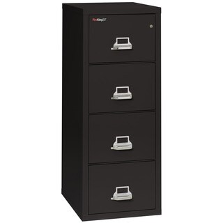 Fireproof 52 .75 in. H x 17.75 in. W x 31.56 in. D Vertical File Cabinet with 4 Letter Sized Drawers