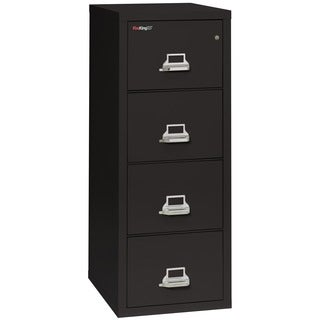 FireKing25 4-Drawer Letter-size Fireproof File Cabinet