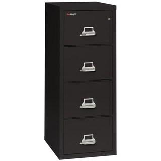 "FireKing Fireproof Vertical File Cabinet, Letter, 4 Drawers, 25""D"