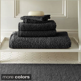 Amrapur Overseas Egyptian Cotton Towel and Bath Rug 6-piece Set