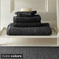 Amraupur Overseas Egyptian Cotton Towel and Bath Rug 6-piece Set