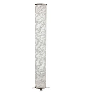 White Ice Shade Single-light Decorative Floor Lamp