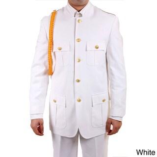 Ferrecci Men's 'Military General' 2-piece Uniform Suit
