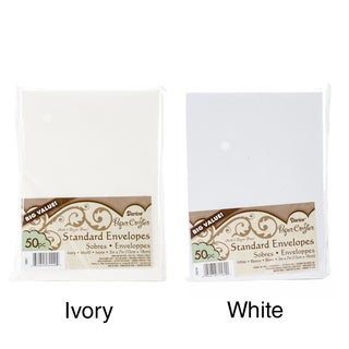"""Smooth A7 Envelopes (5.25""""X7.25"""") 50/Pkg (2 options available)"""