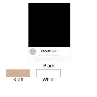 "Kaisercraft C6 Cards & Envelopes 4.5""X6.25"" 10/Pkg|https://ak1.ostkcdn.com/images/products/9321297/P16481243.jpg?_ostk_perf_=percv&impolicy=medium"