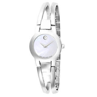 Movado Women's 0606538 Amorosa Stainless Steel Watch