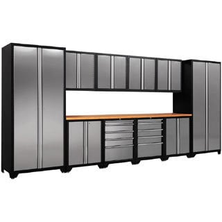 NewAge Products Pro Stainless Steel 12-piece Cabinetry Set