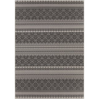 Artist's Loom Indoor/Outdoor Transitional Oriental Rug (3'11 x 5'7)