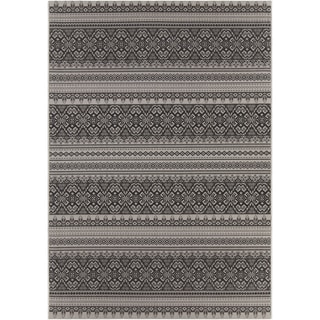 Artist's Loom Indoor/Outdoor Transitional Oriental Rug (5'3 x 7'7)