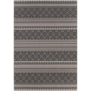 Artist's Loom Indoor/Outdoor Transitional Oriental Rug (7'10 x 11'2)