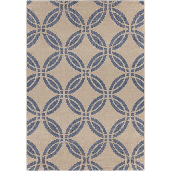 Artist's Loom Indoor/Outdoor Moroccan Geometric Rug - 7'10 x 11'2