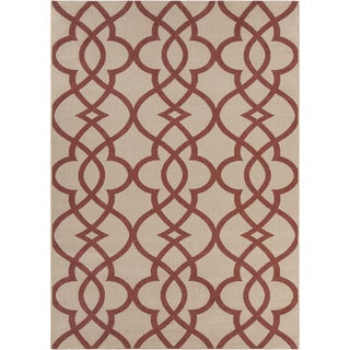 Artist's Loom Indoor/Outdoor Moroccan Geometric Rug (5'3 x 7'7)
