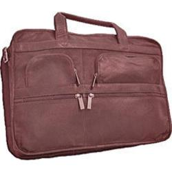 David King Leather 171 Organizer Briefcase Cafe
