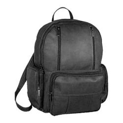 David King Leather 332 Laptop Pack Black