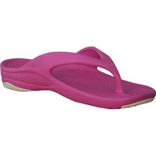 Women's Dawgs Flip Flop Hot Pink