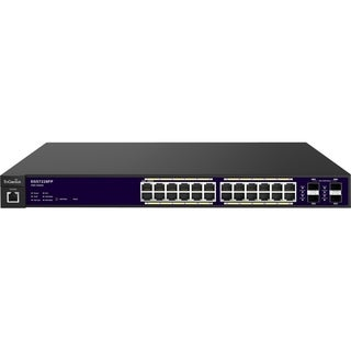 EnGenius 24-Port Gigabit PoE+ Layer 2 Switch (370W) with 4 Dual-Speed