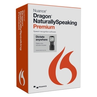 Nuance Dragon NaturallySpeaking v.13.0 Premium Mobile Edition With Vo
