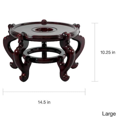 Handmade Large Five-leg Fishbowl Stand