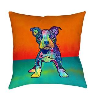Thumbprintz On My Own Indoor/ Outdoor Throw Pillow