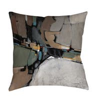 Conjunction III Indoor/ Outdoor Pillow