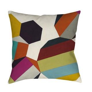Poly-Rhythmic II Indoor/ Outdoor Throw Pillow