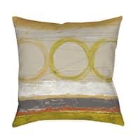 Tangent I Indoor/ Outdoor Throw Pillow