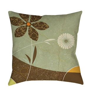 Thumbprintz Graphic Garden Sadie Throw/ Floor Pillow