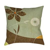 Graphic Garden Sadie Throw/ Floor Pillow
