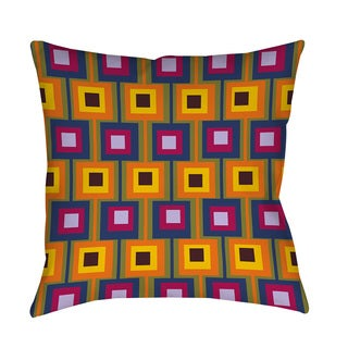 Hypnotic Square I Throw/ Floor Pillow