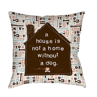 A House Throw/ Floor Pillow